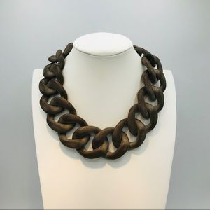 Jewelry - RESIN CHAIN LINK NECKLACE